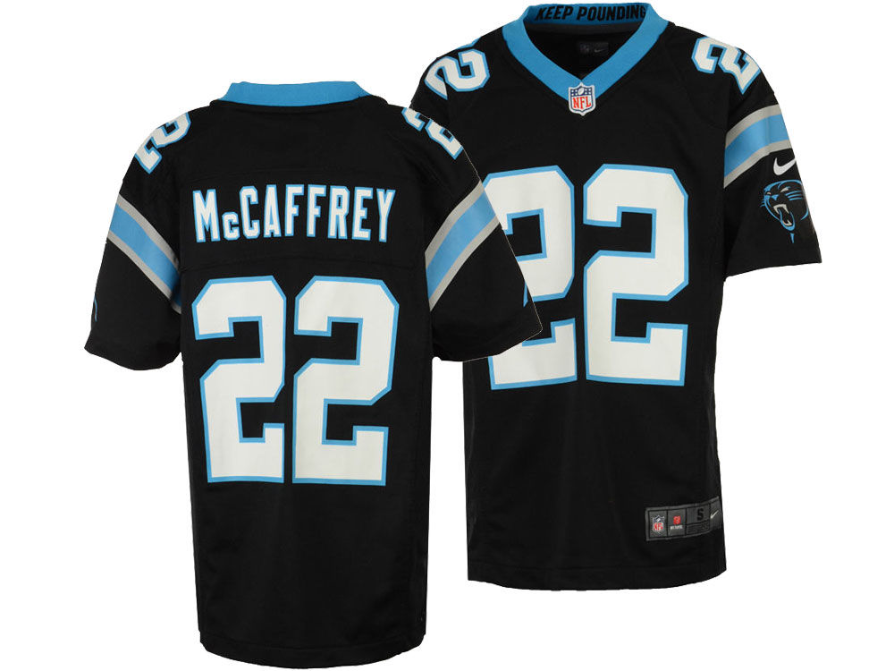 Carolina Panthers Christian McCaffrey Nike NFL Youth Game Jersey ... b9b234588