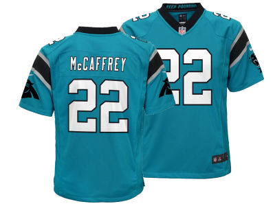 Carolina Panthers Christian McCaffrey Nike NFL Youth Game Jersey