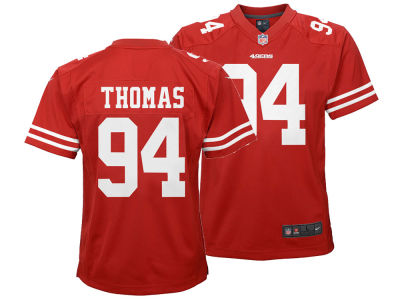 San Francisco 49ers Solomon Thomas Nike NFL Youth Game Jersey