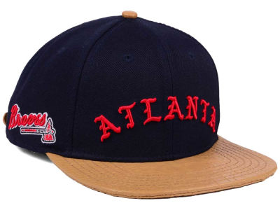 Atlanta Braves Pro Standard MLB Old English Strapback Cap