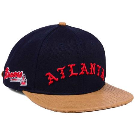 Atlanta Braves Pro Standard MLB Old English Strapback Cap