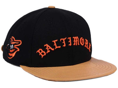 Baltimore Orioles Pro Standard MLB Old English Strapback Cap
