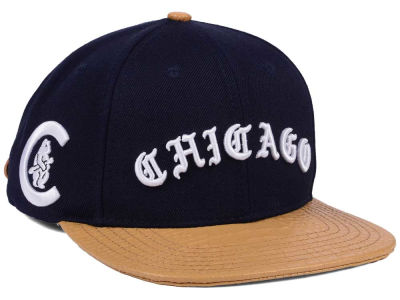 Chicago Cubs Pro Standard MLB Old English Strapback Cap
