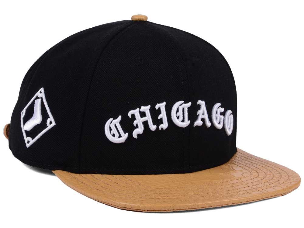 Chicago White Sox Pro Standard MLB Old English Strapback Cap 5978a31f1bf