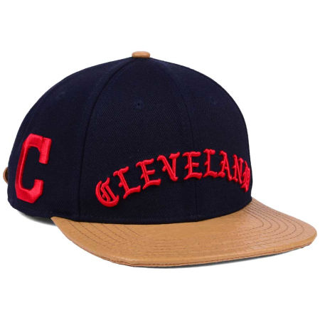 Cleveland Indians Pro Standard MLB Old English Strapback Cap