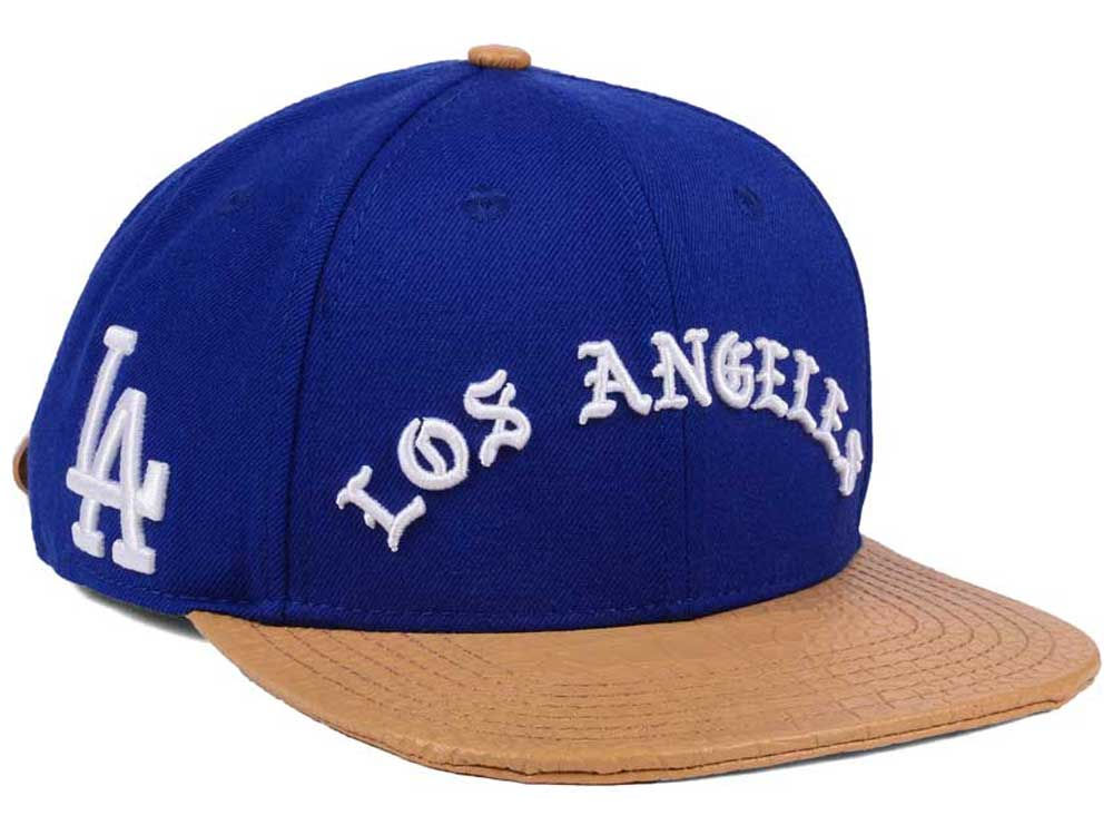 dbc60d2c5fe Los Angeles Dodgers Pro Standard MLB Old English Strapback Cap ...