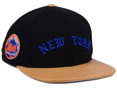 New York Mets Pro Standard MLB Old English Strapback Cap