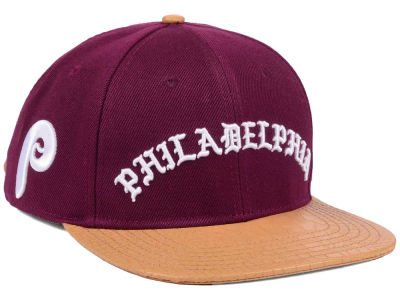 Philadelphia Phillies Pro Standard MLB Old English Strapback Cap