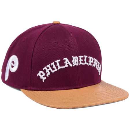 Philadelphia Phillies Pro Standard MLB Old English Strapback Cap