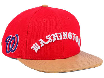 Washington Nationals Pro Standard MLB Old English Strapback Cap