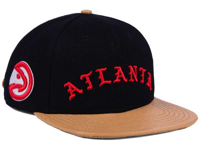 4452275f hot atlanta hawks pro standard nba old english strapback cap a1a30 a3807