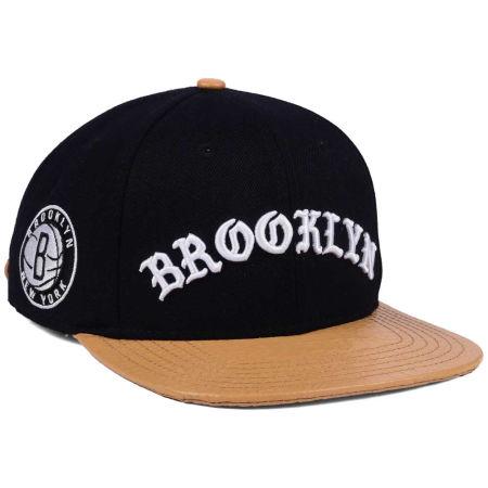 Brooklyn Nets Pro Standard NBA Old English Strapback Cap
