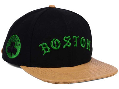 Boston Celtics Pro Standard NBA Old English Strapback Cap