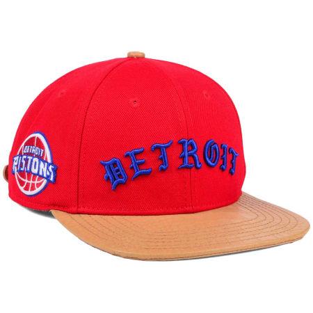 Detroit Pistons Pro Standard NBA Old English Strapback Cap