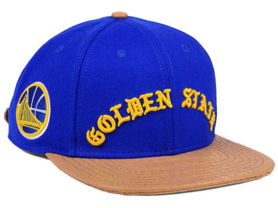 Golden State Warriors Pro Standard NBA Old English Strapback Cap