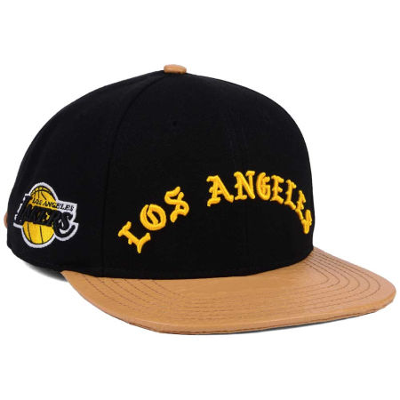 Los Angeles Lakers Pro Standard NBA Old English Strapback Cap