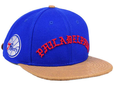 Philadelphia 76ers Pro Standard NBA Old English Strapback Cap