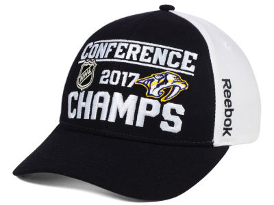 Nashville Predators Reebok 2017 NHL Conference Champ Adjustable Cap