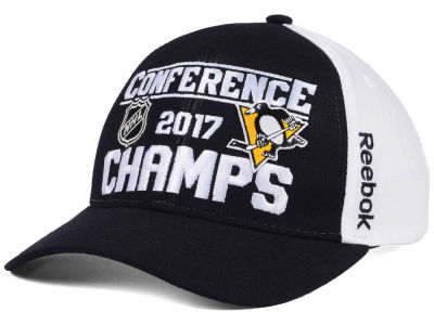 Pittsburgh Penguins Reebok 2017 NHL Conference Champ Adjustable Cap