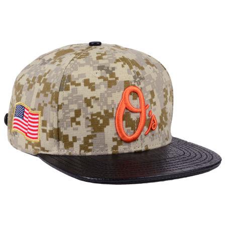 Baltimore Orioles Pro Standard MLB Digi Camo Strapback Cap