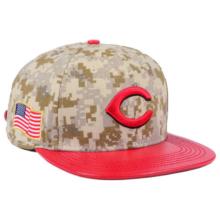 Cincinnati Reds Pro Standard MLB Digi Camo Strapback Cap
