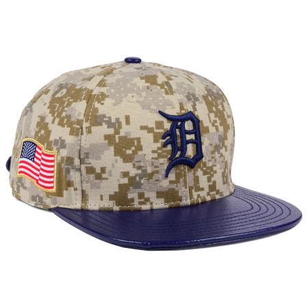 Detroit Tigers Pro Standard MLB Digi Camo Strapback Cap