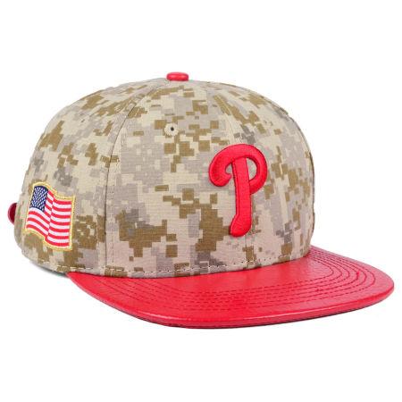 Philadelphia Phillies Pro Standard MLB Digi Camo Strapback Cap