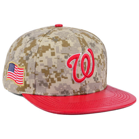 Washington Nationals Pro Standard MLB Digi Camo Strapback Cap