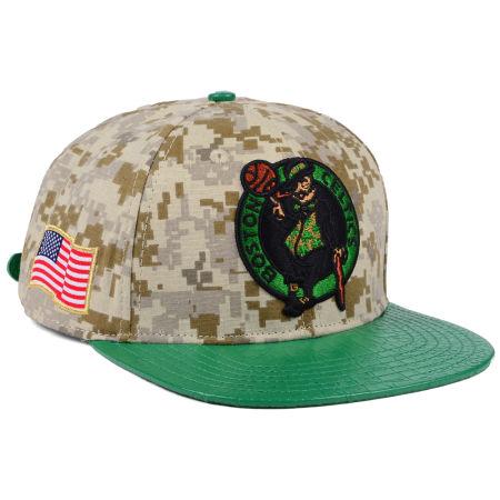 Boston Celtics Pro Standard NBA Digi Camo Strapback Cap