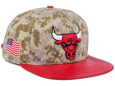 ff50a449671 Chicago Bulls Pro Standard NBA Digi Camo Strapback Cap