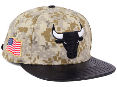 sale retailer 8cb0d ad99a Chicago Bulls Pro Standard NBA Digi Camo Strapback Cap