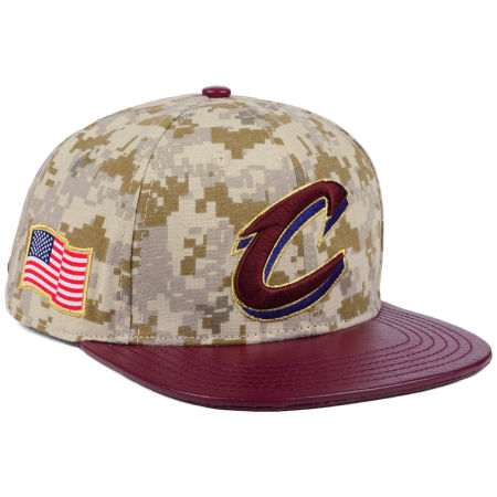 Cleveland Cavaliers Pro Standard NBA Digi Camo Strapback Cap