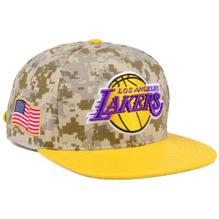 Los Angeles Lakers Pro Standard NBA Digi Camo Strapback Cap