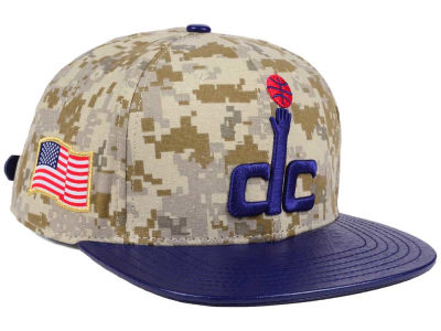 Washington Wizards Pro Standard NBA Digi Camo Strapback Cap