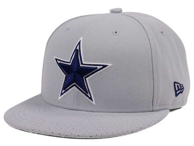 Dallas Cowboys New Era NFL Tweed Turn 9FIFTY Snapback Cap