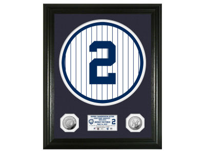 New York Yankees Derek Jeter Photo Mint Coin Silver