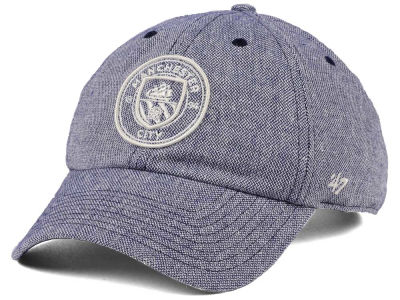 Manchester City '47 EPL Strike Through CLEAN UP Cap