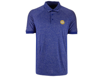 Golden State Warriors Antigua NBA Men's Talent Desert Dry Polo