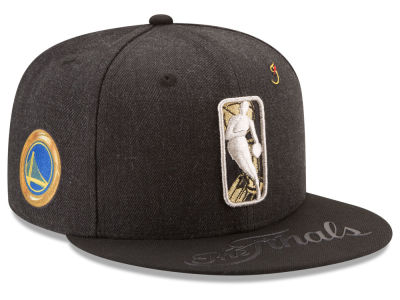 Golden State Warriors New Era 2017 NBA Secondary Finals 9FIFTY Snapback Cap