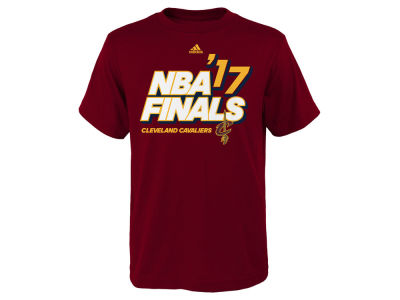 Cleveland Cavaliers adidas 2017 NBA Youth Finals Participant Roster T-Shirt