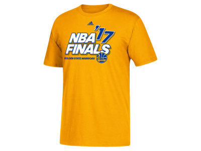 Golden State Warriors adidas 2017 NBA Youth Finals Participant Roster T-Shirt