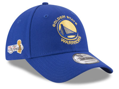 Golden State Warriors New Era 2017 NBA Finals Patch 9FORTY Cap