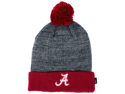 Alabama Crimson Tide Nike NCAA Heather Pom Knit