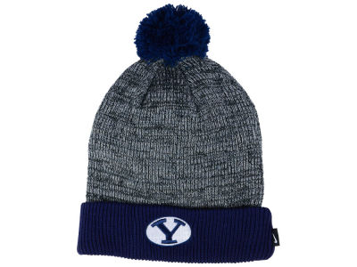 Brigham Young Cougars Nike NCAA Heather Pom Knit