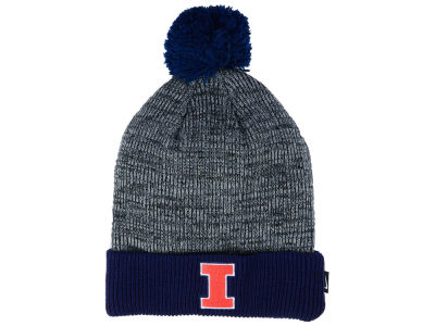 Illinois Fighting Illini Nike NCAA Heather Pom Knit
