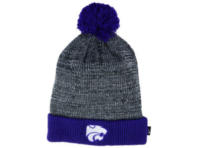 Kansas State Wildcats Nike NCAA Heather Pom Knit