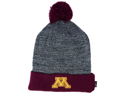 Minnesota Golden Gophers Nike NCAA Heather Pom Knit