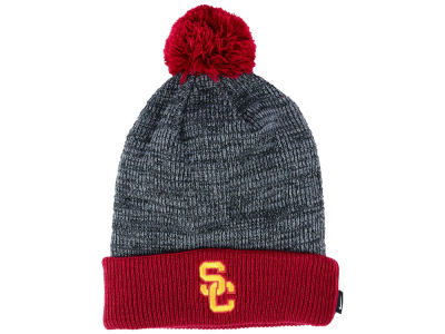 USC Trojans Nike NCAA Heather Pom Knit