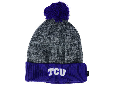 Texas Christian Horned Frogs Nike NCAA Heather Pom Knit