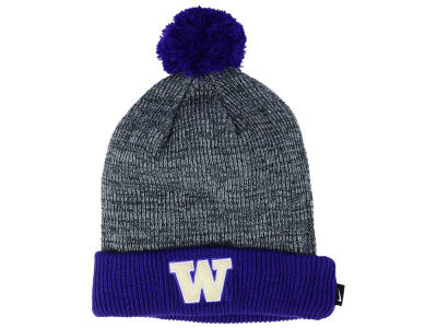 Washington Huskies Nike NCAA Heather Pom Knit